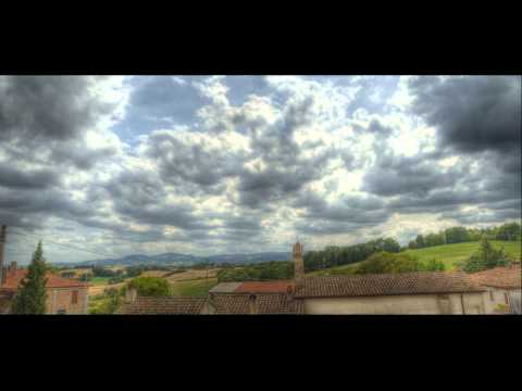 HDR Time Lapse: italian cloudy landscape by Nikon D7000