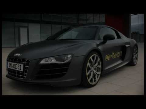 Audi R8 e-tron footage