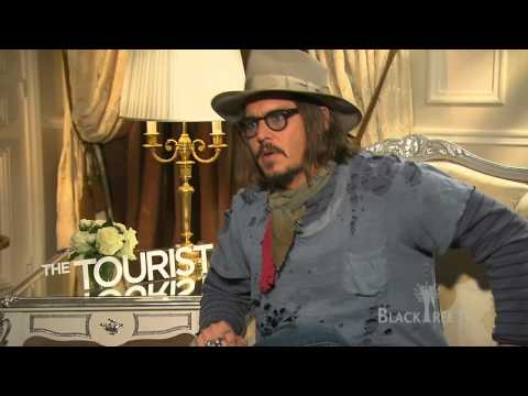 The Tourist - Johnny Depp talks about his -first time-