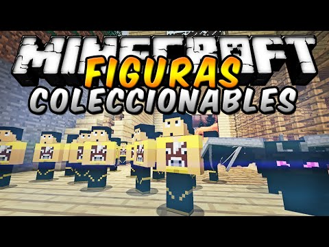 Minecraft - FIGURAS COLECCIONABLES MOD MOD (Simplemente épico!) - ESPAÑOL TUTORIAL