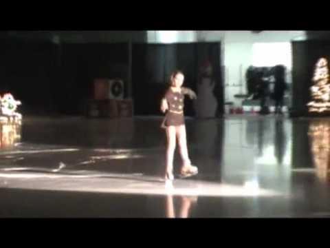 Danielle Skating Hallelujah Iceworks 2010