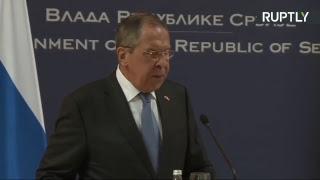 Лавров и глава МИД Сербии подводят итоги переговоров