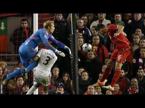 LiverPool VS Swansea City 2-1 Highlights 2014 [HD] ENGLISH 28/10/2014