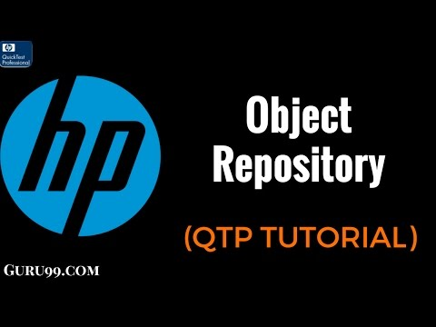 QTP 23 : Object Repository