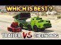 GTA 5 ONLINE : CHERNOBOG VS ANTI AIRCRAFT TRAILER (WHICH IS BEST?)