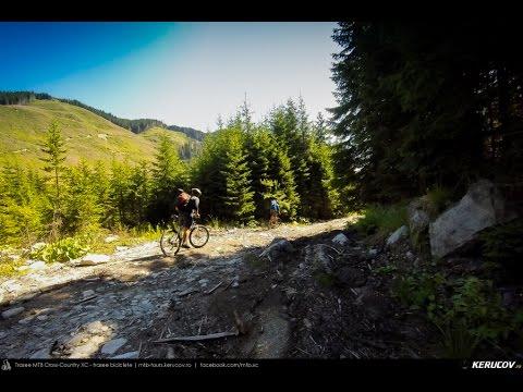 VIDEOCLIP Traseu cu bicicleta MTB Petrimanu - Curmatura Oltetului - Polovragi - Horezu - Babeni [VIDEO]