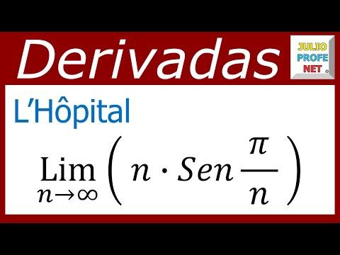 Solucion de un limite con Regla de L'Hopital