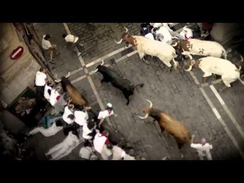 Encierro 3D: Bull Running in Pamplona Trailer