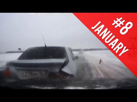 Car Crash Compilation #8 - January 2015 - Snow Crashes