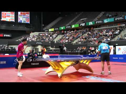 Table Tennis WTTC 2011 Rotterdam Men's Semi Wang Hao Ma Long 5 of 12
