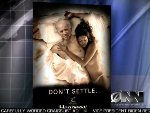 Biden Criticized For Appearing In Hennessy Ads