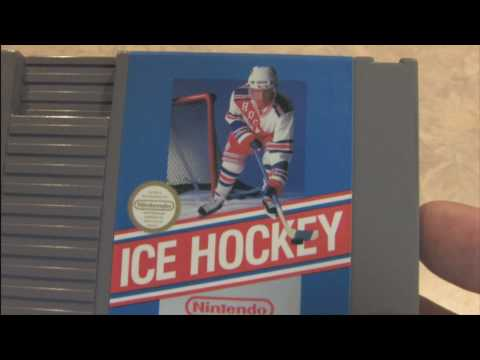 CGR Packaging Review -- ICE HOCKEY for NES cartridge