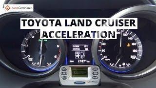 Toyota Land Cruiser 3.0 D-4D 190 KM - acceleration 0-100 km/h