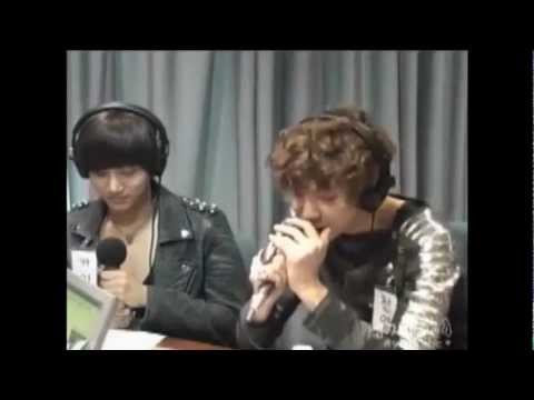 EXO-K CHANYEOL BEATBOXING Cut @ Choi Hwa Jung's Power Time 120515