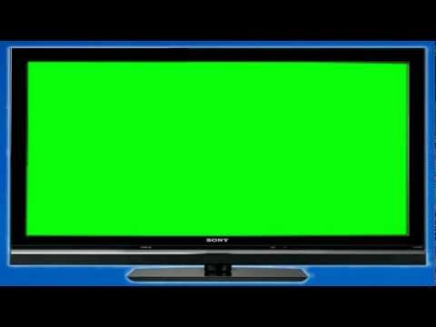 Five Green Screen Televisions (1080p HD)