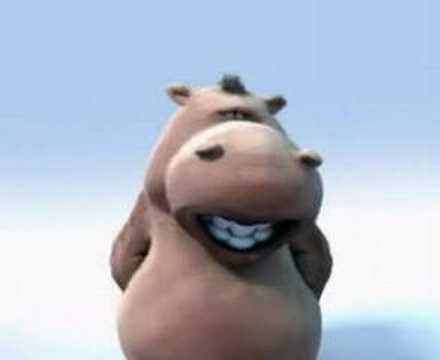 pixar singing hippo