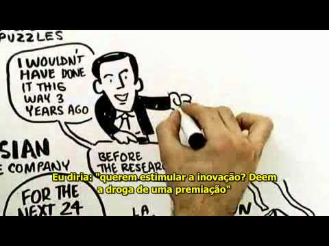 RSA Animate - Drive: A surpreendente verdade sobre o que nos motiva (legendado)