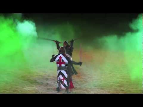 SONY ALPHA SLT-A77 VIDEO TEST ON MEDIEVAL TIMES KNIGHTS BATTLES
