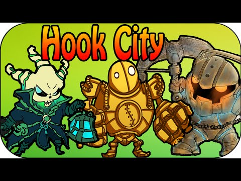 Blitzcrank + Thresh + Nautilus - One Lane Hook City
