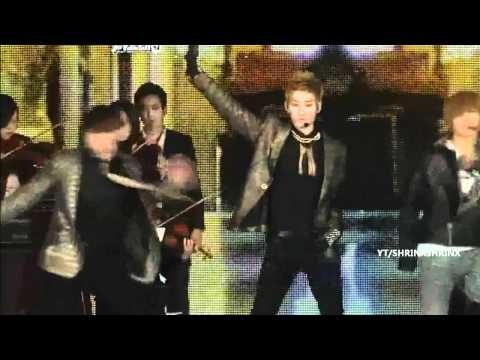 [HQ] 111229 Super Junior , SHINee & EXO Dance Stages Live @ SBS GAYO DAEJUN 2011