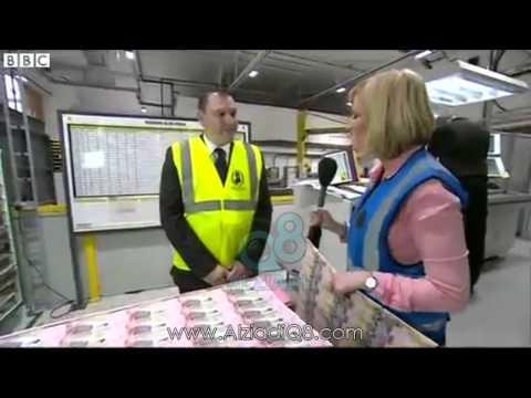 شاهد بالفيديو بي بي سي تعرض العملة الكويتية من داخل مصنع فى برطانيا لطباعة أوراق النقد
