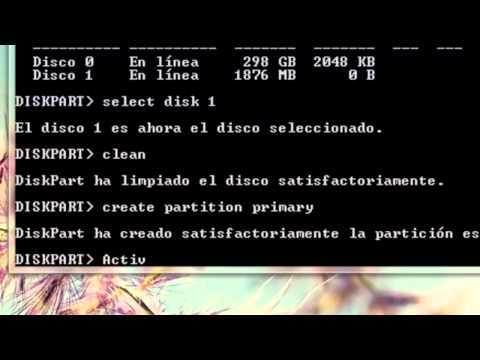 Formatear windows 7 desde USB sin programas