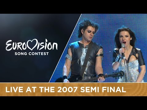 Evridiki - Comme Ci, Comme �a (Cyprus) Live 2007 Eurovision Song Contest