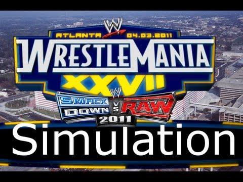 WWE SvR Classic #4 Wrestlemania 27 Simulation (SvR11)