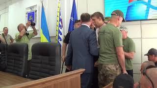 Заседание в Никополе: Вся Украина в одном кадре