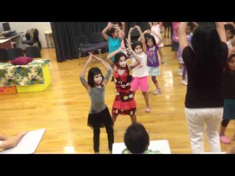 Karishma dance practice