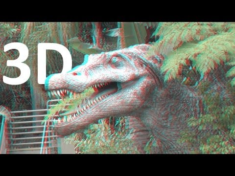Jurassic Park River Adventure (3D) at Universal Studios Hollywood