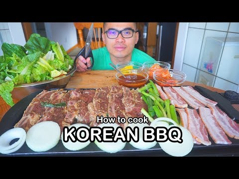 How to cook up a KOREAN BBQ