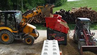 Aufbereitung Schotter&Erde LS28 / Processing Gravel&Soil LS28