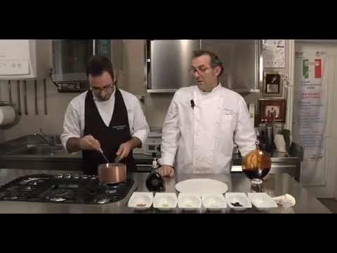 Massimo Bottura - Crostatina al Limone con Aceto Balsamico  Due Vittorie
