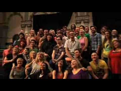 Jerry Springer: the Opera behind the scenes as the cast rehearse at Sydney Opera House