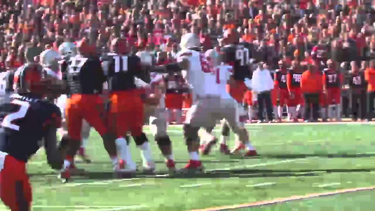 WATCH: Illinois falls short against Ohio State. Losing 28-3