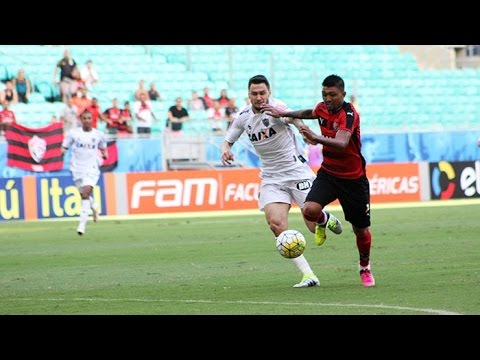 Veja os gols de Vitória 1 x 1 Atlético (MG)