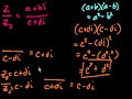 Фрагмент с средины видео - Complex Numbers (part 2)