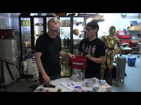 Adam Savage Man Cave Bourne Identity Burn Bag