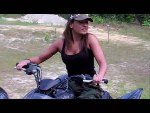 Reby Sky Rides & Wrecks an ATV