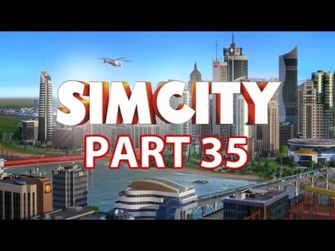 Sim City Walkthrough Part 35 - Airport (SimCity 5 2013) Gameplay