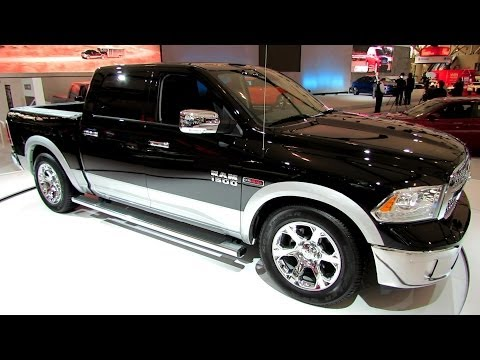2014 RAM 1500 EcoDiesel Laramie - Exterior and Interior Walkaround - 2014 Toronto Auto Show - UChI4p4l9OlVJ41c6AYQBtlw