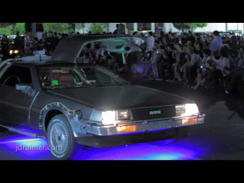 Back to the Future Live Reenactment at Twin Pines Mall (BTTF 11/05/10)
