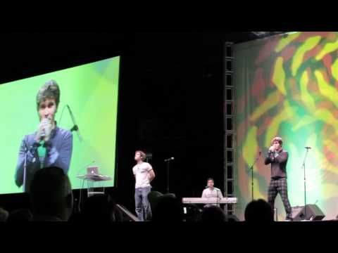 "VidCon 2012 ""Sideburns"" Live Performance"