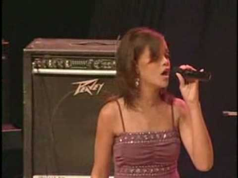 Rihanna-Hero (when she was 15 years old)