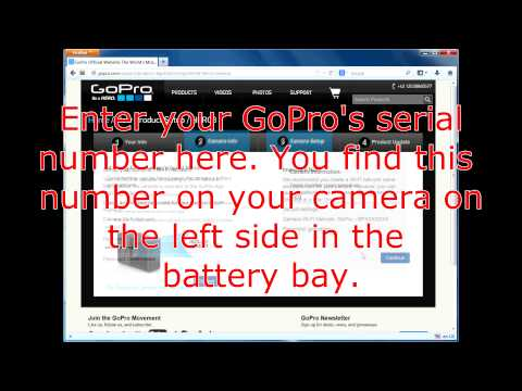 Howto MANUALLY (Re-)Set the Wifi/WLAN Password of GoPro Hero 3 Cameras