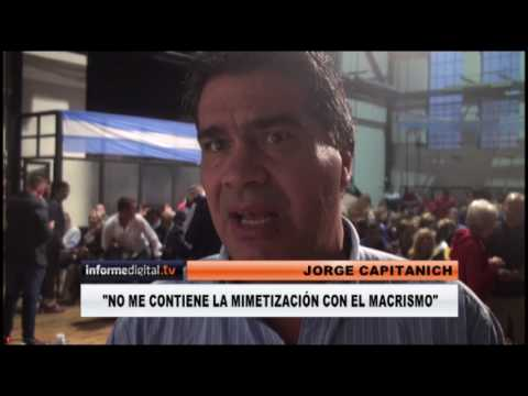 <b>Interna PJ.</b> Capitanich habló en Paraná de lealtades y traiciones
