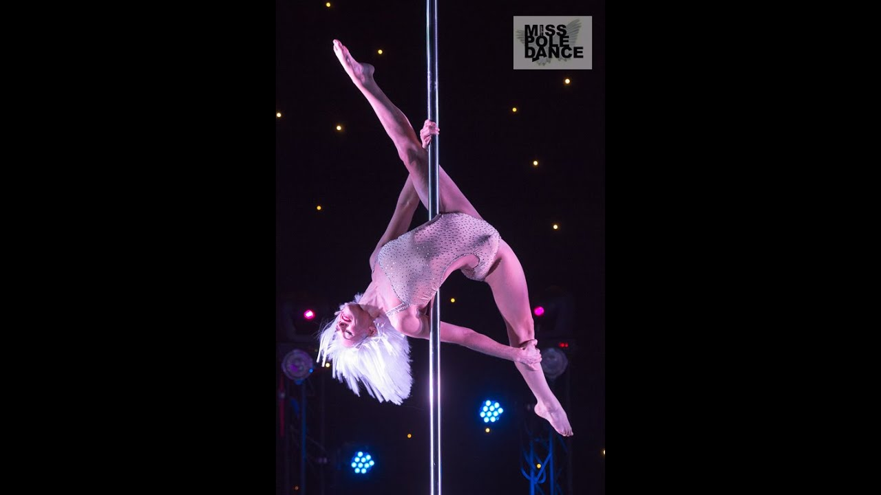 Miss Pole Dance UK - 2014 Champion Yvette Dusol