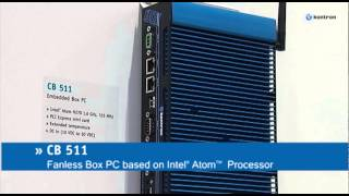 Fanless Box PC - CB 511