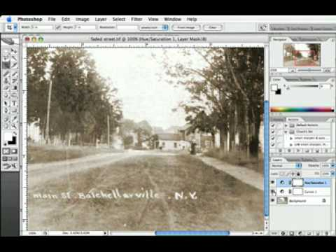 Photoshop Tutorial   Fix Badly Faded Images   Video